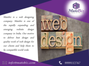 Build A New Website by Web Design Company India