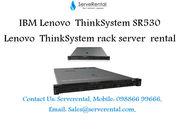 Lenovo ThinkSystem SR530 Server,  Intel Xeon Silver ( 2.1GHz,  8 Core )