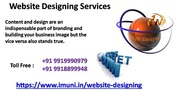 Promote Your Business By Obtaining Our Web Designing Service