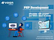 PHP Web Development Company in Delhi NCR