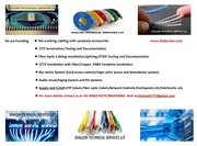 Shalom Technical Services LLP  Network Cabling Certified Installer